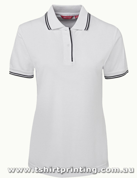 P52W Johnny Bobbin Ladies Contrast Polo